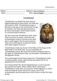 king tut worksheets free worksheets library download and print