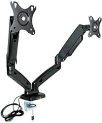rosewill dual monitor desk mount amazon com rosewill dual monitor desk mount 13 27 lcd led