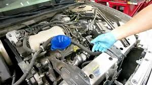 howto diy 2004 buick century oil change replace filter 2003 2002