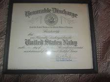 honorable discharge certificate honorable discharge certificate ebay