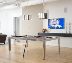 Pool Table Ceiling Lights Contemporary Pool Table Family Room Eclectic With Modern Los