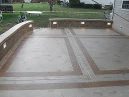 choosing a good cement patio ideas the latest home decor ideas