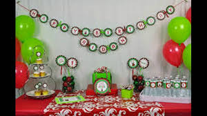 christmas party decorations youtube