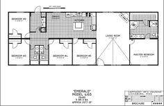 5 bedroom double wide floor plans doublewide home floor plans 5 bedroom floor plans 281 south