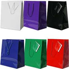 purple gift bags jam paper large 10 x 13 x 5 glossy gift bags assortment pack