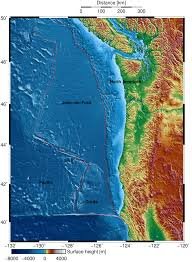 Pacific Northwest Map Source Of Northwest U0027s Next Big Quake Mapped