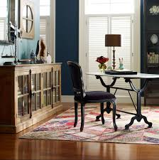 french industrial white marble top oval writing desk zin home