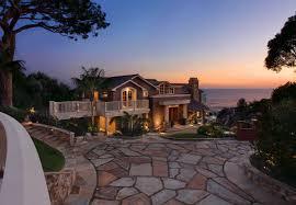 usa houses laguna beach mansion night cities house ocean wallpaper
