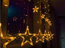 decoration colorful 28 led pentagram string fairy light tiny white