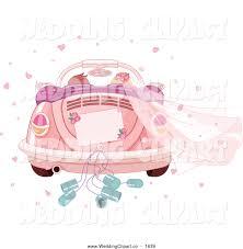 volkswagen bug clip art vector cartoon marriage clipart of a wedding couple driving away