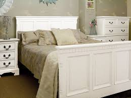 bedrooms comfortable rustic white bedroom furniture on white and