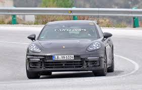 Porsche Panamera S E Hybrid - second gen 2017 porsche panamera s e hybrid spied