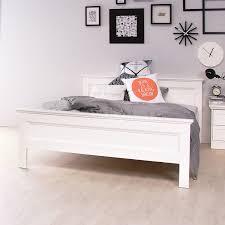 Betten Schlafzimmer Amazon Stockholm Landhaus Bett 140x200 In Weiss Amazon De Küche U0026 Haushalt