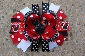 boutique hair bows mouse hair bow large boutique hair bow large hair bow boutique