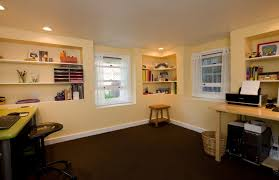 Basement Office Ideas Lovely Basement Office Design On Home Decorating Ideas With