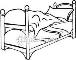 Bunk Bed Drawing Set Of Bunk Beds Royalty Free Clipart Picture