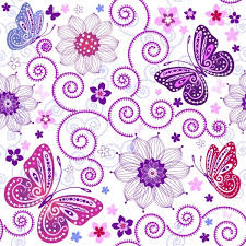 butterfly pattern background 01 vector free vector in encapsulated