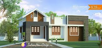 Low Budget House Plans In Kerala With Price Kerala Home Design 828 Sq Ft 2 Bedroom Low Cost Plan