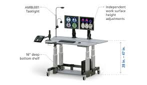 height adjustable dual tier computer stand up desk afcindustries com