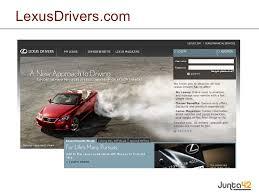 lexus slide website lexusdrivers com
