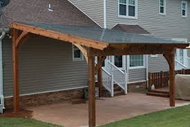 Building A Freestanding Pergola by Free Standing Pergola With Polycarbonate Roof Panels To Keep Out