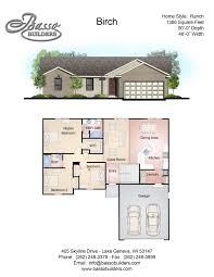 floor plans basso builders