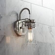 kichler industrial bathroom lighting lamps plus