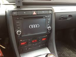 audi a4 2004 radio for sale oem fit unit stereo with dvd nav bluetooth