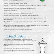 complete wedding checklist complete wedding planning guide and checklist visual ly