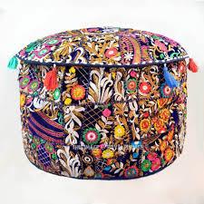 Tufted Pouf Ottoman by Furniture Eye Catching Gray Velvet Pouf Ottoman Design Pouf