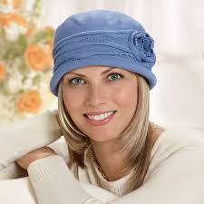 chemo hats with hair attached hats with hair for cancer chemotherapy patients tlc direct