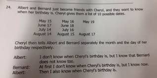 here u0027s the answer to the cheryl u0027s birthday math problem huffpost