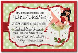 christmas cocktail party retro cocktail holiday party invitations retro holiday party