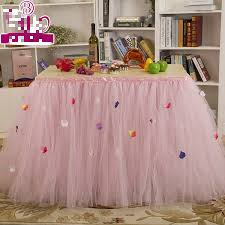 Decoration Birthday Party Home Online Get Cheap Cloth Table Skirts Aliexpress Com Alibaba Group