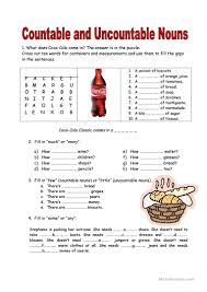 Categorize And Classify Worksheets 45 Free Esl Countable And Uncountable Nouns Worksheets
