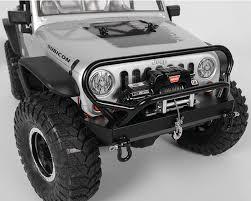 jeep grill decal scx10 jeep rubicon tough armour winch bumper u0026 grill guard by