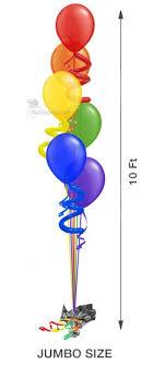 large balloons balloon tree cascading twisty 6 6 large balloons balloon
