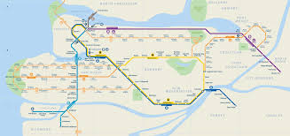 vancouver skytrain map route rights and freedoms march