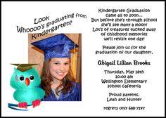 kindergarten graduation cards graduation day invitation card vertabox