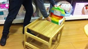 wooden high chair converts into table design ideas