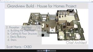 floorplan 2nd floor stairs u0026 balcony u2013 grandview build project