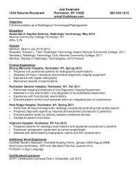 ultrasound resume resume for radiologic technologist http resumesdesign