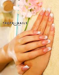 10 nails u0026 spa pink u0026 white solar