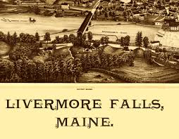Map Me Home Livermore Falls Me In 1889 Bird U0027s Eye View Map Aerial