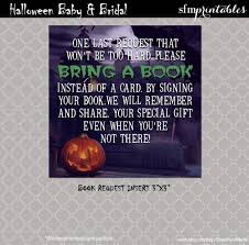 halloween gender reveal invitations couples baby shower gender