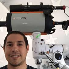 Backyard Astronomer Backyard Astronomer Sparks Nasa Interest The New Daily