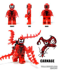 carnage coloring pages lego carnage minifigure yolo tistory com 251 yong kwan lim