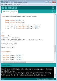 usb host relay board keyboard example