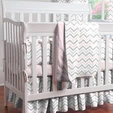 Hot Pink And Black Crib Bedding by Pink And Gray Chevron Crib Bedding Carousel Designs Baby Bedding