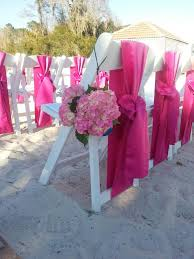 pink chair sashes fuchsia lamour satin chair sashes for white resin chairs